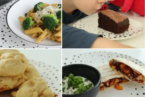 Książka kucharska rodzica – 4 szybkie przepisy na obiady i desery przygotowywane z dziećmi!
