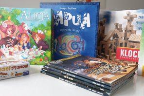 Pięć fenomenalnych planszówek i… książko-gier