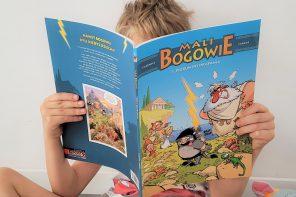 Najwybitniejsi naukowcy i historia we wciągającej formule, czyli ulubione komiksy moich dzieci.